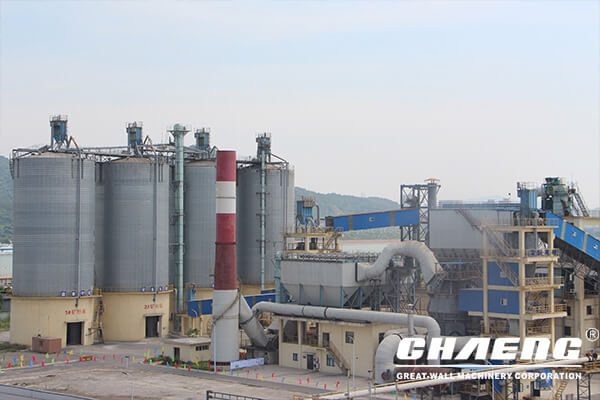 cement grinidng plant